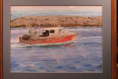 trawler-red-16x20-pstl